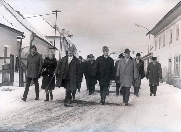 Za návštěvy v Horní Plané v osudovém roce 1968, kdy se 28. ledna slavilo 100. výročí Stifterova úmrtí