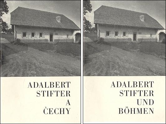Obálky (1968) jeho publikací, vydaných českobudějovickou Krajskou knihovnou k jubilejní výstavě ve Zlaté Koruně