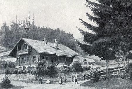 Lesní škola v Krieglach-Alpl jako by Šumavě z oka vypadla