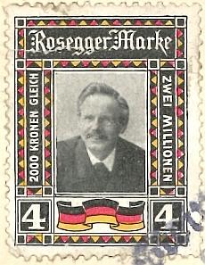 Reklamní známka z období 1. světové války