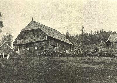 Rodný dům v Alpl u Krieglachu...