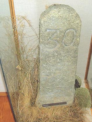 Sáhový kámen, německy řečený Klafferstein