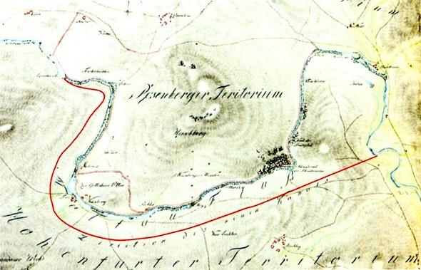 Jím v roce 1768 kreslený plánek obchvatného kanálu při Čertově stěně, jak se dochoval v českokrumlovské pobočce SOA Třeboň