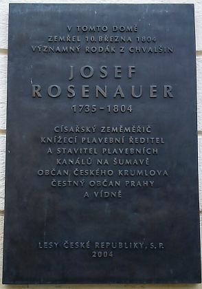 Dům čp. 54 U Černého koníčka na českokrumlovském Latráně, kde zemřel