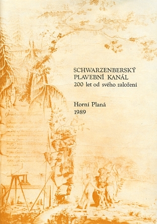 Alegorie božstev na mapě z roku 1791 představuje bohyni Pallas Athenu, ochránkyni věd, umění a řemesel, jak přihlíží podání rukou Dunaje a Vltavy za účasti bůžka lásky Amora - autorem kresby použité na patitulu sborníku ke 200. jubileu Schwarzenberskeho plavebního kanálu byl Jan Nepomuk Šimoušek (Schimauschek)