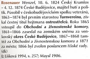 ... a v českobudějovické encyklopedii