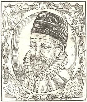 Podobizna Petra Voka z díla Diadochus (1602) Bartoloměje Paprockého z Hlohol (1540/1543-1614)