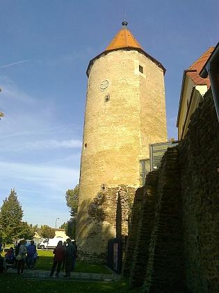 Věž soběslavského hradu