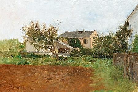 """Na kraji vesnice"" (1885)"
