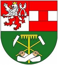 Znak města Krásno (někdy česky jmenovaného i Krásno nad Teplou)