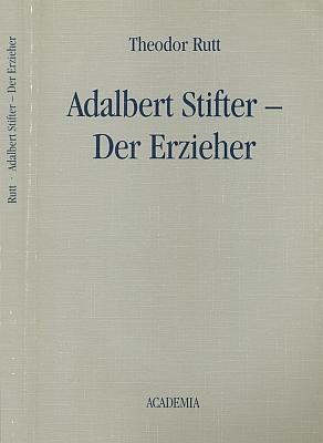 Obálka (1989) třetího vydání jeho knihy o Stifterovi, vydané Academia Verlag Richarz v Sankt Augustin