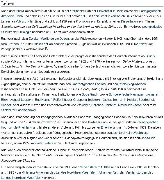 Takto zaznamenává jeho životopis Wikipedia