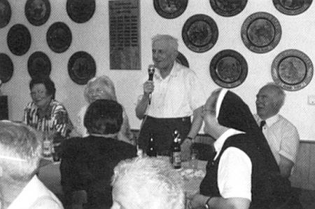 V červenci roku 2006 na setkání s někdejšími strýčickými farníky