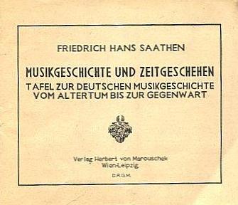Obálka jeho publikace, kterou vydal ve Vídni roku 1944 HerbertvonMarouschek