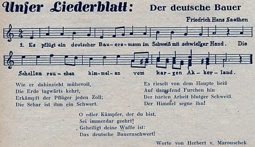 Jím zhudebněné verše, jejichž autorem je Herbert von Marouschek, zněly by v českém překladu takto