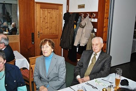 Ještě jednou s manželkou při slavnosti v Schönbergu v roce 2012