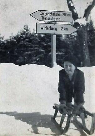 """Nad Vimperkem """"U Sloupu"""" v roce 1939"""
