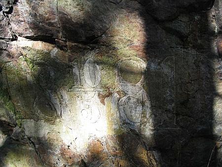 Štěpánčina skála ve Stifterově parku