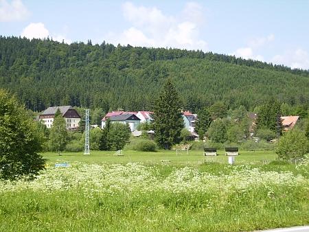 Pohled na Borová Lada v roce 2012