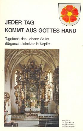 Obálka (1991) knihy, kterou vydal Verein Glaube und Heimat, Beilngries
