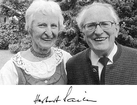 S manželkou Traudi