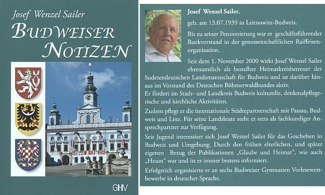 Obálka jeho knihy (2019), vydané nakladatelstvím Gerhard Hess Verlag