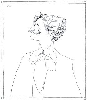 Na vinětě Olafa Gulbranssona (1873-1958) z nakladatelského katalogu Albert Langen Verlag 1894-1904