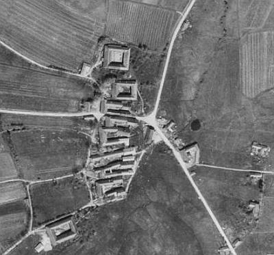 ... a na leteckých snímcích z let 1947 a 2008