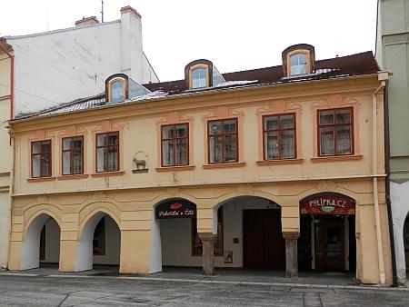 Dům U Beránka v českobudějovické Krajinské ulici čp. 35, kde zemřel