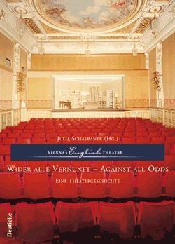 Obálka (2005) dvojjazyčné knihy o divadle, kterézaložil, vydané ve Vídni (Deuticke Verlag)