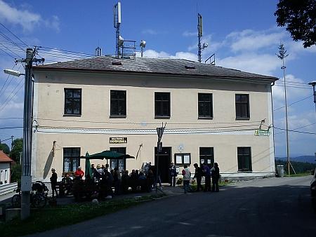 Někdejší škola v Malšíně