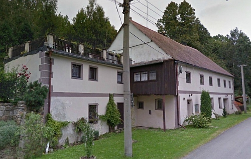 Někdejší mlýn čp. 28 v Dlouhé Stropnici