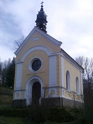 Kaple Panny Marie v Dlouhé Stropnici