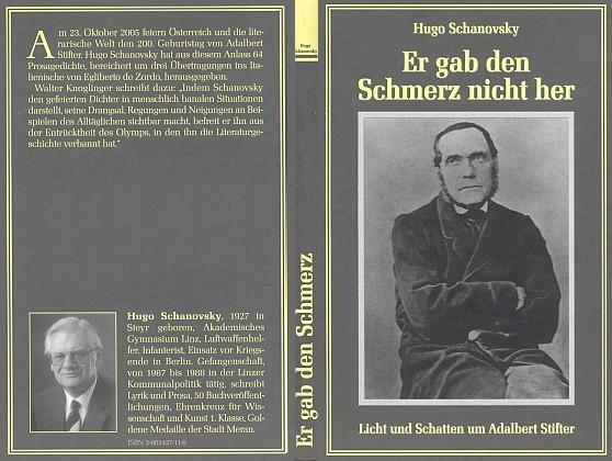 Obálka (2005) knihy vydané nakladatelstvím Franz Steinmaßl v Grünbachu