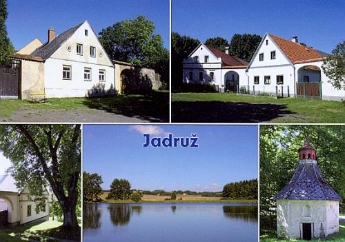 Současná pohlednice z Jadruže