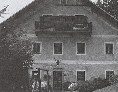 Rodný dům v Holzschlagu