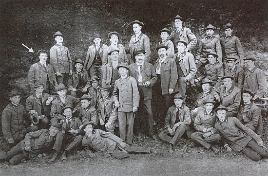 Se spolužáky ze studií na lesnické škole