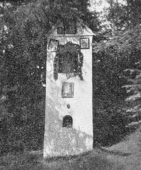 Kaple při kamenech svatého Volfganga u Kladenského Rovného...