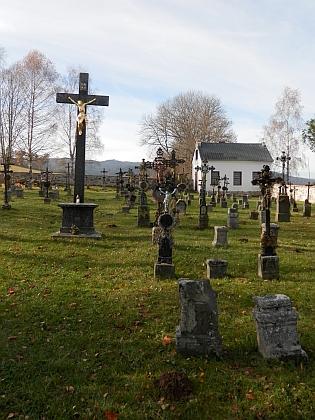 Hrob na želnavském hřbitově už dnes nelze nalézt