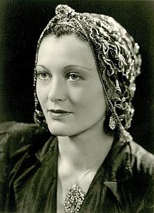 Jeho dcera Margarete na snímku z roku 1941...