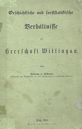 Obálka jeho publikace (1863)