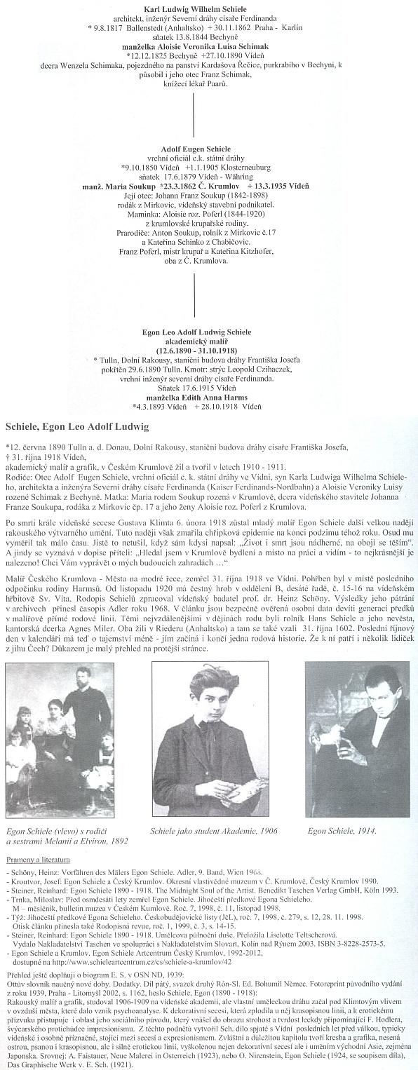 Edice Pramínek přináší výtah z jeho rodokmenu a přehled pramenů k jeho životopisu, kde ovšem odkaz na Kohoutí kříž bohužel chybí