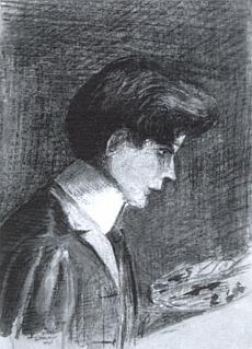 Autoportrét patnáctiletého z roku 1905