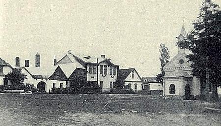 Hrabice v roce 1938