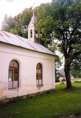 Kaple v rodném Křesanově