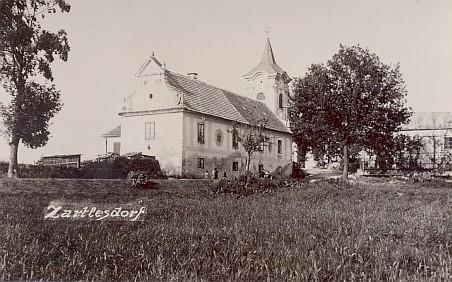 Dvě vzácné pohlednice z někdejšího Certlova (dnes Rybník)