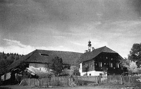 Dvorec Franze Meindla ve Stögerově Huti
