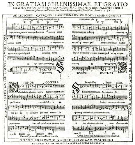 """Appenzellerova skladba """"Sancta Maria"""" byla prý vytištěna i na lněném plátně"""