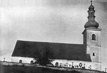 Kostel sv. Vavřince v Klení...