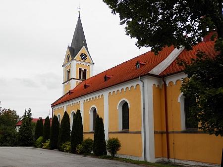 Kostel Neposkvrněného početí Panny Marie v rodné Černé v Pošumaví